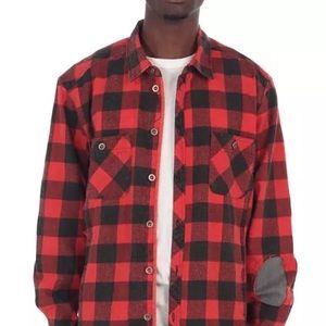 EPTM butcher flannel red lumberjack